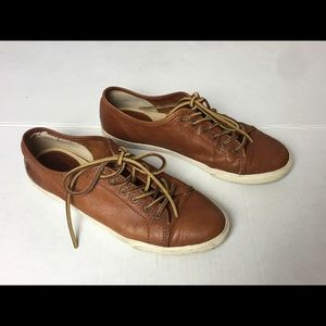 Frye Mindy Leather Sneakers 8.5